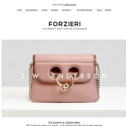 [Forzieri] New In | Your Urban Odyssey Begins with JW Anderson, Alexander Wang and Vionnet