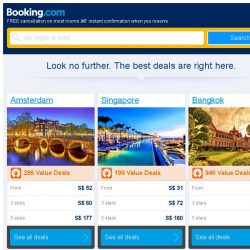 [Booking.com] Amsterdam and Singapore – great last-minute deals from S$ 13