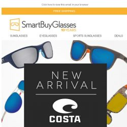 [SmartBuyGlasses] Look who just arrived > Costa del Mar in the house