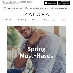 [Zalora] Spring into NEW with these confidence boosters!