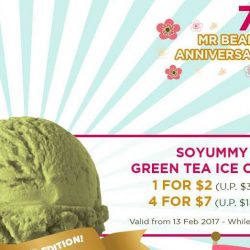 Mr Bean: Save up to $7 on SOYummy Green Tea Ice Cream + Get a FREE Mr Bean Merchandise!