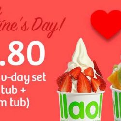 llaollao Singapore: Special Valentine's Day Set for $8.80 (UP $10.80)