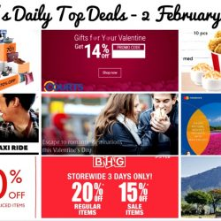 BQ's Daily Top Deals: Singapore Airlines Mastercard Exclusive Fares, Emirates UOB Exclusive Fares, Tigerair 20% OFF with UOB Cards, TANGS Annual Sale, BHG Storewide Sale & More!