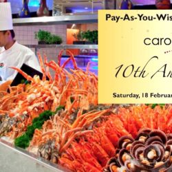 Carousel Buffet: Pay-As-You-Wish Buffet Lunch on 18 Feb 2017
