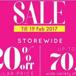 OG Singapore: Lunar New Year Sale with 20% OFF Storewide & Up to 70% OFF Wide Variety of Items