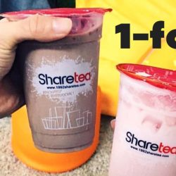 Sharetea: 1-for-1 Special Drink on Valentine's Day!