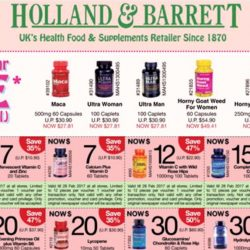 Holland & Barrett: Valentine's Day Specials & Coupon Promotions