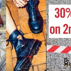 Dr.Martens: 2nd Pair at 30% OFF!