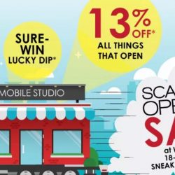 Scanteak: New Wisma Atria Store with Up to 60% OFF Teak Furniture + 13% OFF Anything That Opens!