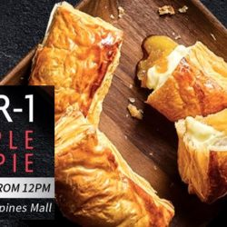BreadTalk: 1-for-1 Apple Lè Pies at Tampines Mall New Outlet Opening!