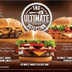 Burger King: NEW The Ultimate Selectionᵀᴹ Burgers!