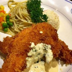 [Ma Maison Restaurant Singapore] Today's Daily Lunch at Ma Maison at Bugis Junction at Takashimaya and Anchorpoint is Chicken Fillet with Tartar Sauce