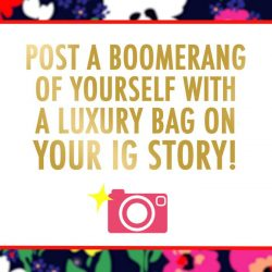 [Reebonz] Want to win a Kate Spade bag? Hop over to Instagram and post a boomerang of yourself with a luxury