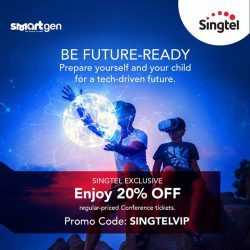 [Singtel] Looking to help your child navigate the new digital world? Join us at Mediacorp's SmartGen Conference happening on 25 &