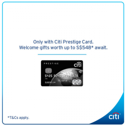[Citibank ATM] Enjoy unparalleled access with the Citi Prestige Card, from unmatched travel privileges to exclusive lifestyle benefits. Apply now and choose