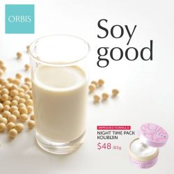 [ORBIS] Soy beans are a great supplement to our diet due to its high quality protein, calcium, and omega-3 fatty