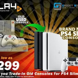 [GAME XTREME] Trade-In to PS4 Slim Promo REDUX: Now - 28/2/17LAST 50 SETS FOR TradE !!!!!!!!!!!! Still have old consoles
