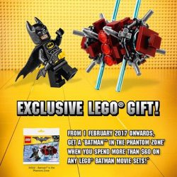 [The Brick Shop] LEGO Batman GiftsHello uber-nerd fans, I'm sure you can't wait to see my sweet feature, The