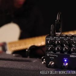 [Swee Lee Music] The Keeley Delay Workstation is the kind of unit you could spend all day with—just experimenting with different sounds