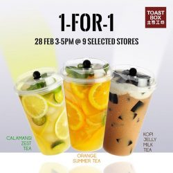 [Toast Box Singapore] Not in the East to Find Tea Not Trouble?