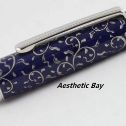 [Aesthetic Bay] Platinum 3776 Century Celluloid Special Octagonal Karakusa Fountain PenPlatinum's Celluloid Collection consists of the popular 3776 model, rendered