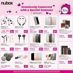 [Nübox] Last few days to grab some accessories with savings up to 77%.