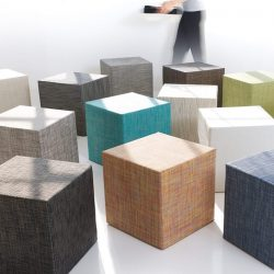 [Chilewich] Ideal to serve, sit, or decorate, Chilewich Cubes are great for entertaining.
