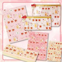 [Sanrio Gift Gate] Don't you agree this series of stationeries comes in the most beautiful color schemes? Characters include: Hello Kitty, Melody,