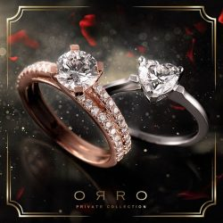 [ORRO Jewellery] Valentine's Day,A day of romance for that special lady in your life. Get that ideal ring from ORRO