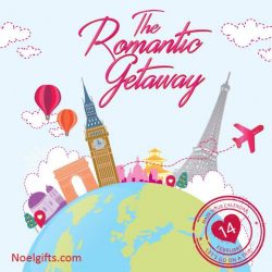 [Noel Gifts] Set off with a romantic getaway with our lovely collection that travels around the world with your loved one this
