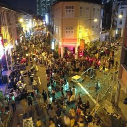 [Scarlet City] Join the Keong Saik street party (just a short walk from The Scarlet Singapore) this Saturday, 18 February for an