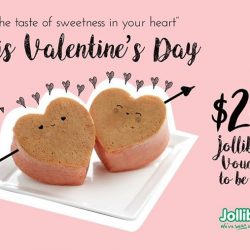 [Jollibean Singapore] Valentine's Day Contest Promotion:We are spreading our love during this season by giving away a $20 Jollibean voucher