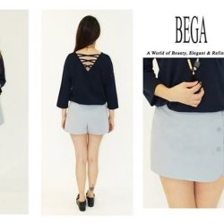 [BEGA] Side button design give you a chic look.