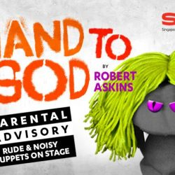 [SISTIC Singapore] Tickets for Hand to God go on sale on 06 Feb 2017. Get your tickets through SISTIC at http://www.