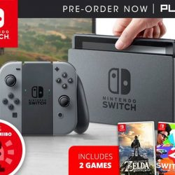 [PLAYe] PLAYe's Nintendo Switch pre-order begins now! We have a special bundle that lets you take home 3 additional