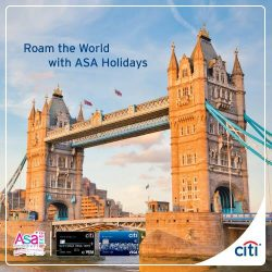 [Citibank ATM] Join ASA Holidays at Power-Packed Travel Fair 2017! Enjoy various promotions and uncover new itineraries for 2017 with ASA