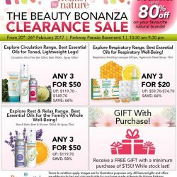[Beauty By Nature] Your Favourite Puressentiel Products on Sale at The Beauty Bonanza Clearance Sale happening on the 20th to 26th February 2017