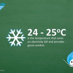 [Daikin Proshop PassionAir] Teacher. P: DO YOU KNOW… What is the ideal temperature (in summer) for most savings?Based on the study from
