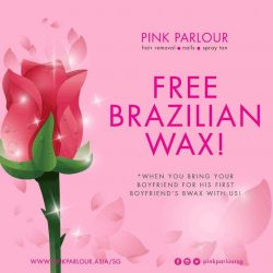 [Shi Li Fang] Here's a sweet sweet Valentine's promo for you!Book your appointment at www.pinkparlour.com.sg