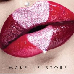 [MAKE UP STORE] Valentine Day is just a week away... Visit Make Up Store for your flattering lip colour that reads L.O.