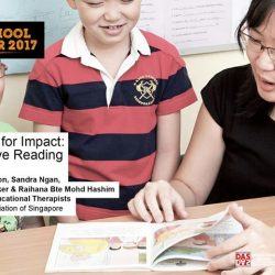 [Dyslexia Association of Singapore] Interactive reading helps parents and teachers to engage young children in reading actively, by getting them involved in asking and