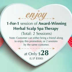 [Oriental Hair Solution] It's 3 more days to Valentine's Day! How about planning a trip with your loved one or BFF