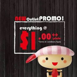 [Sushi Express Singapore] Join us on 1st - 3rd March for our 3 days $1++ per plate Opening Promotion!
