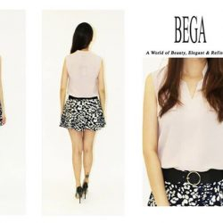 [BEGA] Be it daytime or date nights, fashioned in a gorgeous with V-neck design!