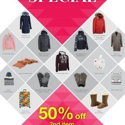 [Universal Traveller] Amazing Promotion for the month of February and Valentine!Get to enjoy 50% off 2nd item with the purchase of