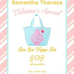 [Samantha Thavasa] Treat yourself to something special this weekend with our Valentine's Day promotions!