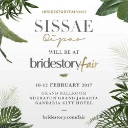 [Sissae] SISSAE QIPAO will be at Bridestory Fair to assist your Sangjit Qipao, Tea Ceremony Qipao or even your bridesmaids and