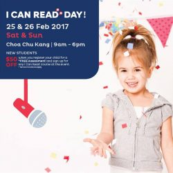 [I Can Read®] QUIZ TIME!In honour of I Can Read Day at our Choa Chu Kang Centre, we will be sponsoring another