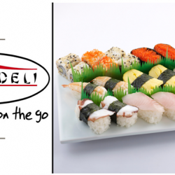 [SUSHI DELI] Are you too busy to dine in for a proper meal?  Sushi Deli offers you quality assortments of Japanese sushi
