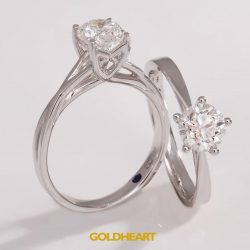 [Goldheart Jewelry Singapore] Her favourite dazzlers are now on SALE!Snag some Solitaire Deals this Valentine's Day: http://bit.ly/GH_Solitaire.More